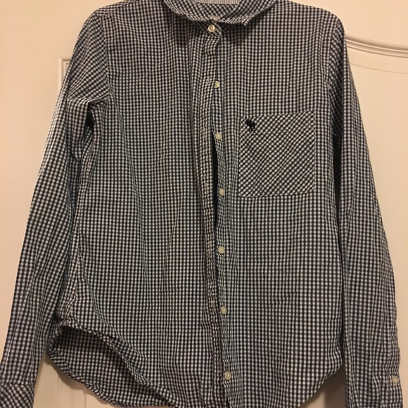 2ee76209 Abercrombie & Fitch Tops | Abercrombie And Fitch Button Down Shirt ...